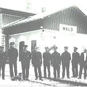 bahnhof wald 1933
