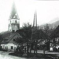 dorfstrasse wald 1928