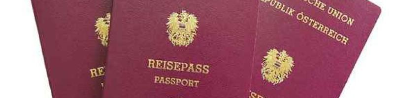 reisepaß österreich