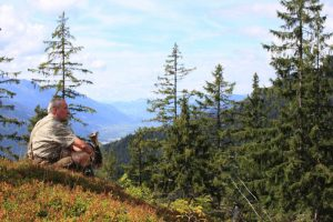 Jäger, Wald am Schoberpaß