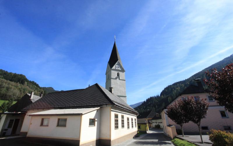 kirche römisch-katholisch wald am schoberpaß