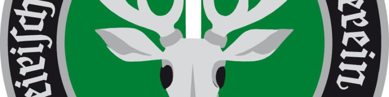 Jagdschutz Logo mit Wappen